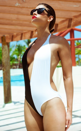 Black and White Monokini |MyCAVI