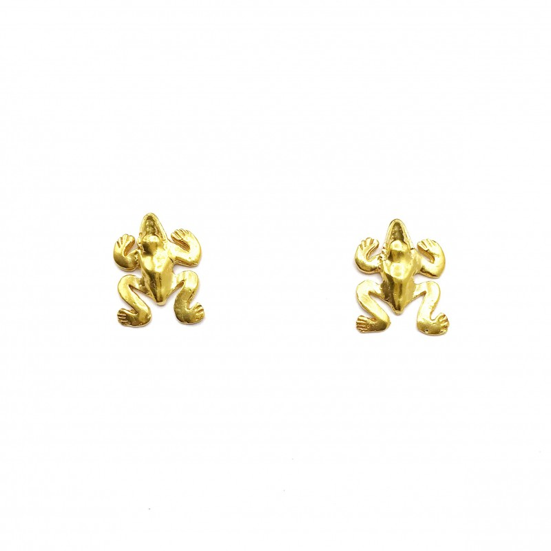 CAVI ONLINE BOUTIQUE | Chameleon Earrings Colombian Handmade Jewelry  Materials | 24k gold plated bronze