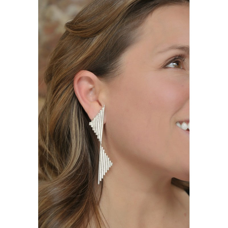 Hallgrímur/H Earrings- CAVI Online Clothing Boutique - Handmade jewelry from Colombia