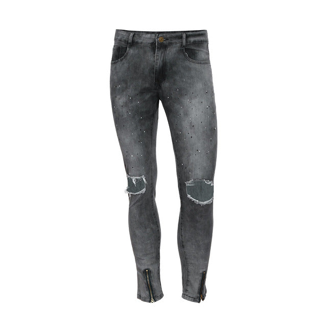 Skinny Distressed Men Jeans