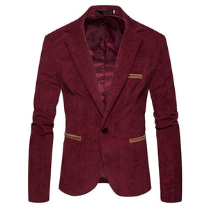 Men's Winter Business Blazer