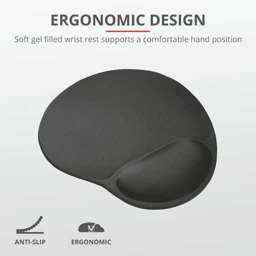 Trust Mouse Pad with Wrist Rest 16977