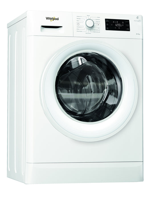 Whirlpool FreshCare FWDG86148W 8Kg / 6Kg Washer Dryer with 1400 rpm - White - A Rated