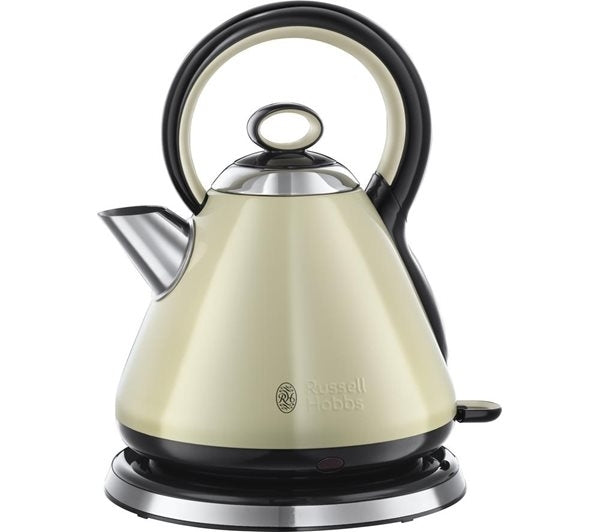 Russell Hobbs 21882 1.7L Legacy Kettle - Cream