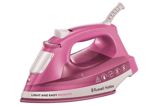 Russell Hobbs Light & Easy Brights 25760 2400 Watt Iron -Pink