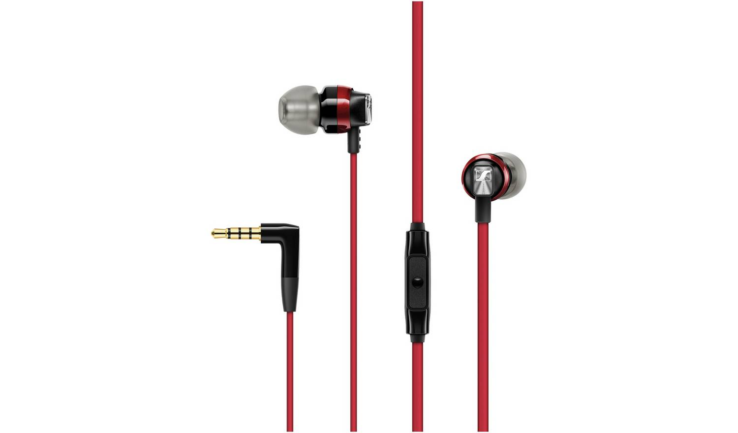 Sennheiser CX300S In-Ear Headphones - Red