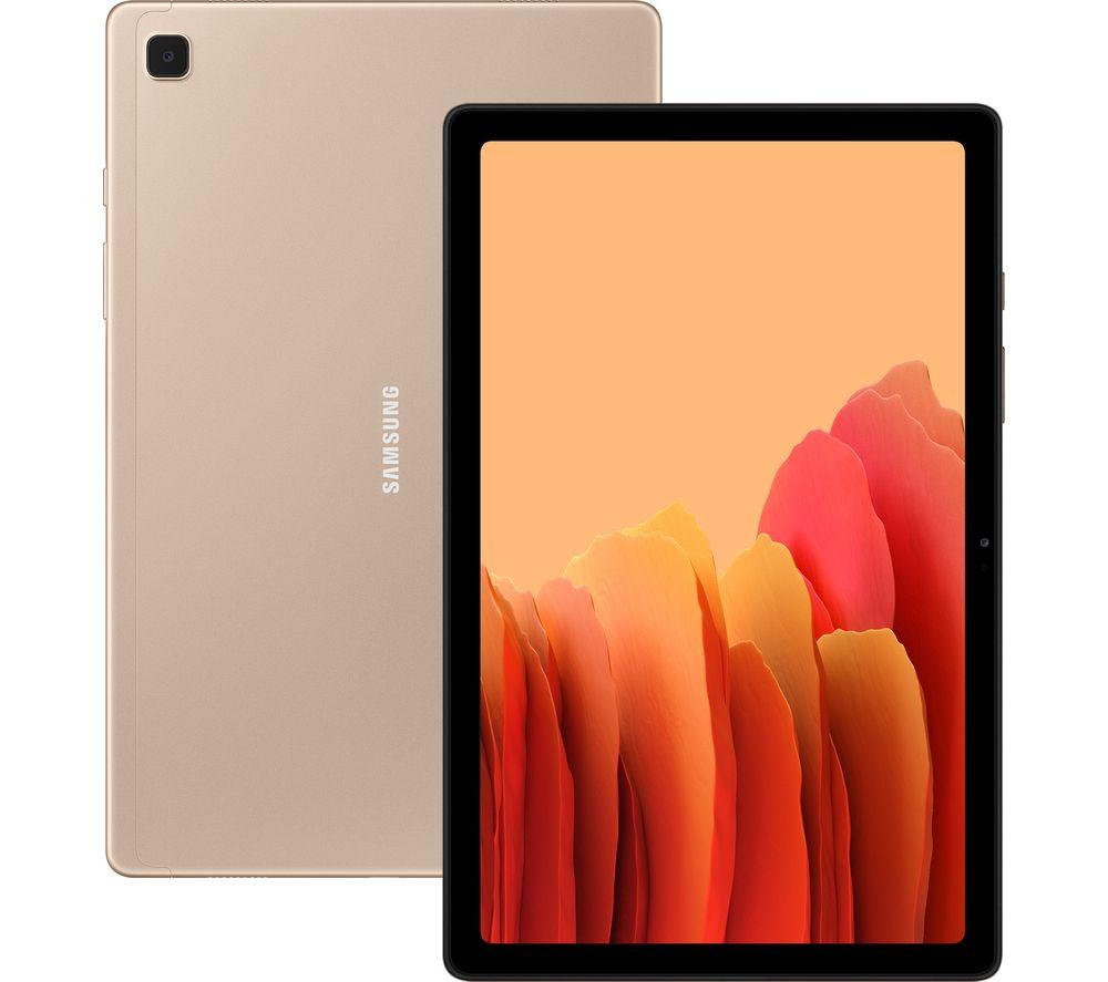 Samsung Galaxy Tab A7 32GB Wi-Fi Tablet - Gold | SM-T500NZDAEU