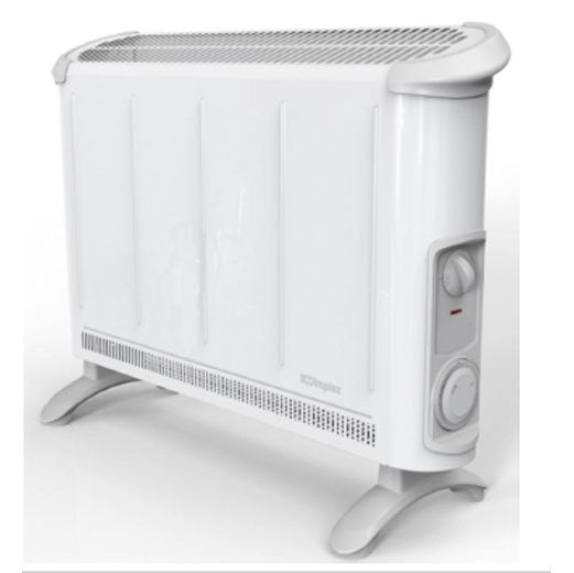 Dimplex 402TSTi 2kW Convector heater with thermostat and timer