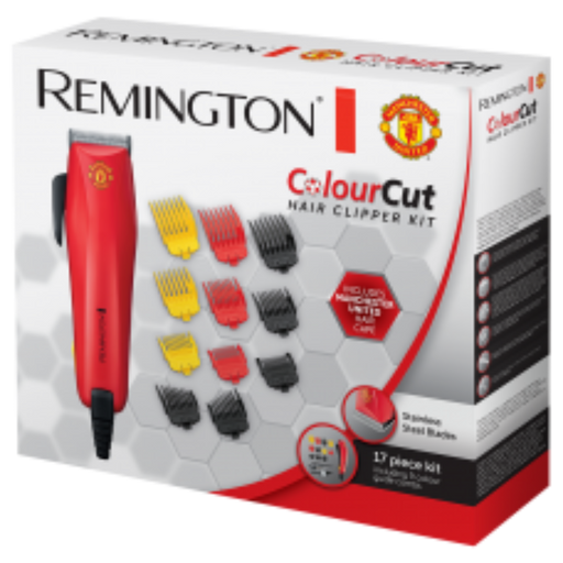 REMINGTON MANCHESTER UNITED EDITION COLOURCUT HAIR CLIPPER | HC5038