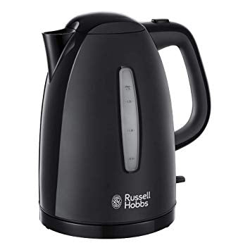 Russell Hobbs 1.7L Black Textures Kettle 21271
