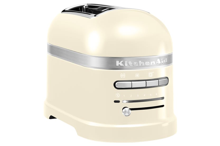 KitchenAid 5KMT2204BAC Artisan 2 Slice Toaster - Almond Cream