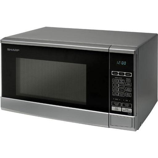 Sharp R270SLM Touch Control 20L Silver Freestanding Microwave