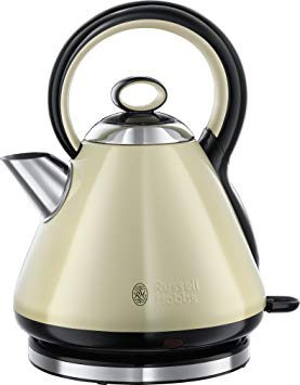 Russell Hobbs Legacy Quiet Boil Kettle 21888 - Cream