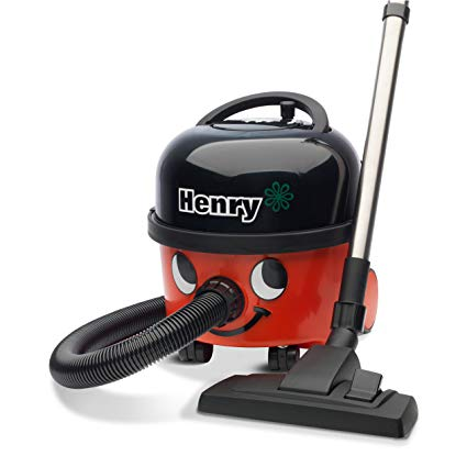 Henry Bagged Cylinder Vacuum Cleaner - Red HVR200