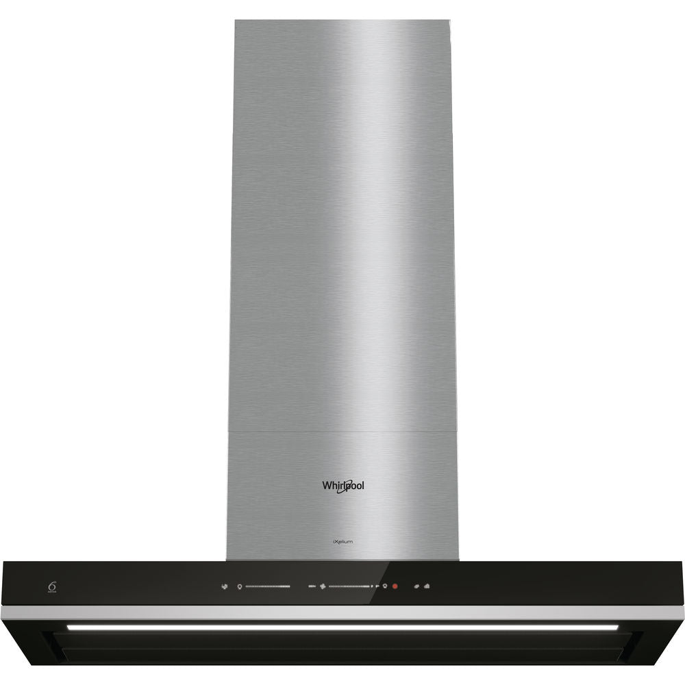 Whirlpool W Collection WHBS 92F LT K Cooker Hood - Black