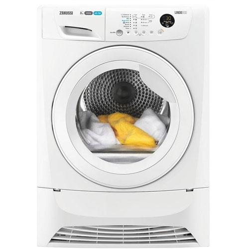 Zanussi ZDC8203WZ 8KG Condenser Tumble Dryer -White