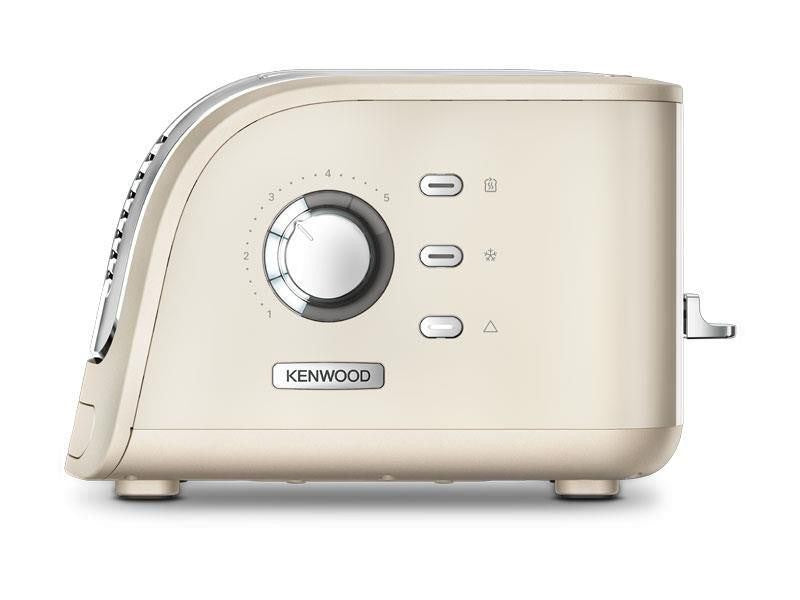 Kenwood 2 Slice Cream Turbo Toaster TCM300CR