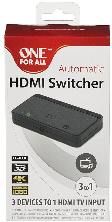 One For All  3 X HDMI Switcher