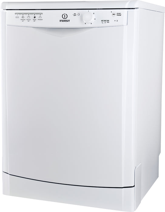 Indesit DFG15B1 Ecotime 13 Place Freestanding Dishwasher with Quick Wash - White