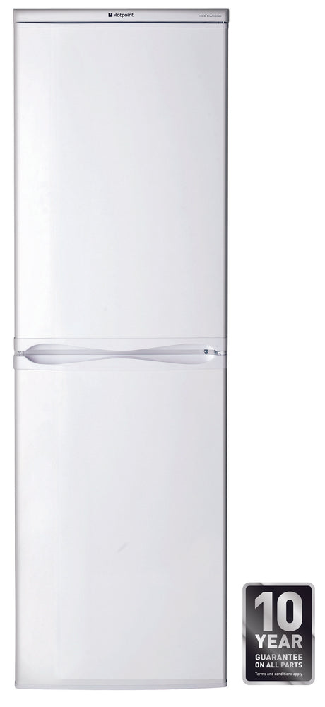 HOTPOINT HBD5517WUK1 50/50 Fridge Freezer - White