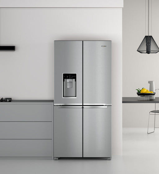 Whirlpool W Collection, American Size, Frost Free Fridge Freezer | WQ9IMO1LUK
