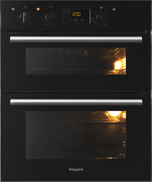 HOTPOINT DU2540BL Luce Electric Built Under Double Oven - Black