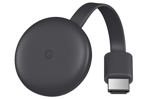 GOOGLE CHROMECAST 3RD GEN - CHARCOAL
