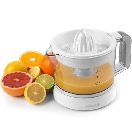 PROGRESS EK3071P Electric Citrus Juicer with Adjustable Pulp Filter, 25 W