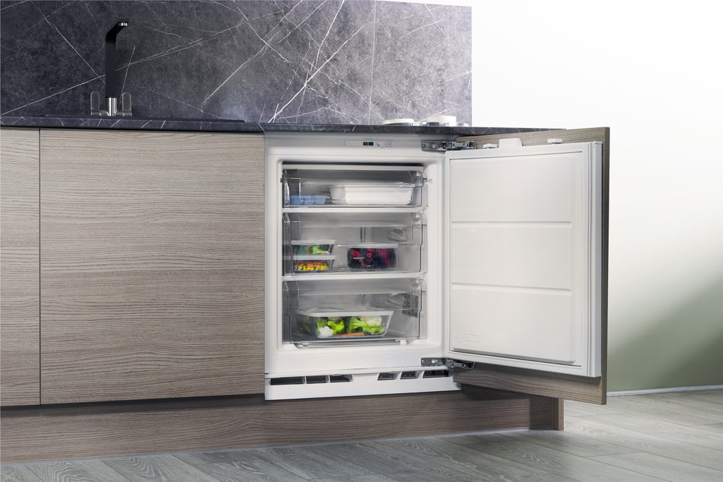 HOTPOINT HZ A1.UK.1 Integrated Undercounter Freezer-60CM