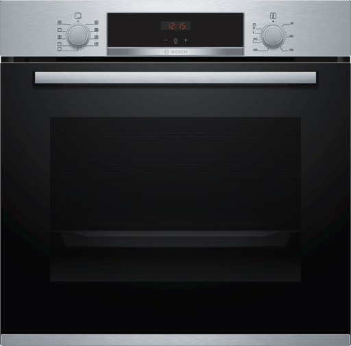 Bosch HBS534BS0B Serie 4 Multifunction Electric Built-in Single Oven With Catalytic Cleaning - Stainless Steel