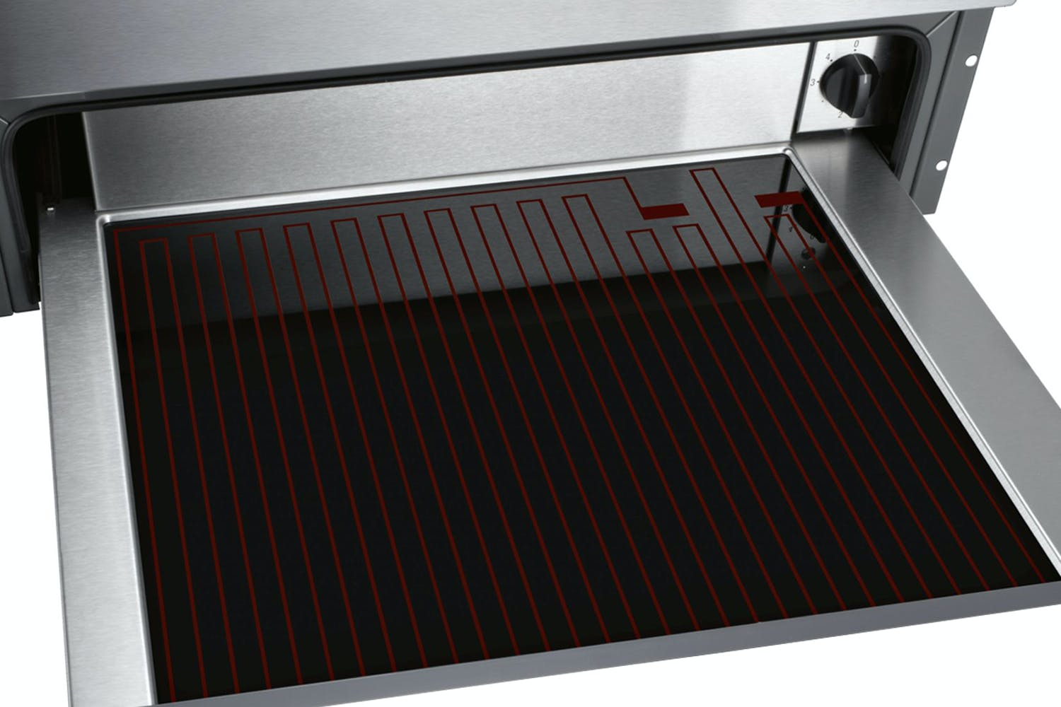Neff N17HH20N0B Push-pull 29cm Height Warming Drawer Stainless Steel