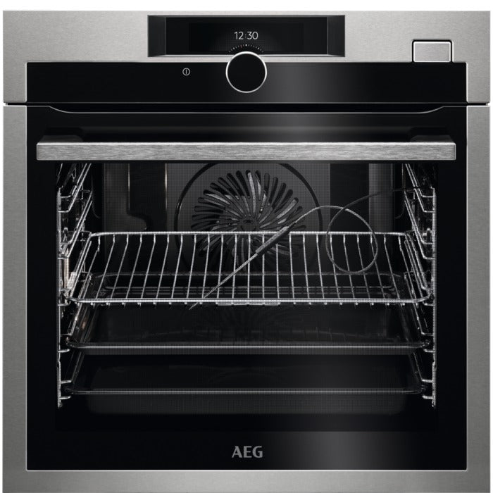 AEG BSE882320M SteamBoost Built-in Steam Oven 70 l A+ Stainless Steel with antifingerprint coating