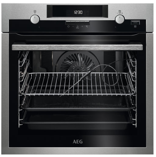 AEG BPS552020M SteamBake Built-in Oven 71 l A+ Stainless Steel with antifingerprint coating