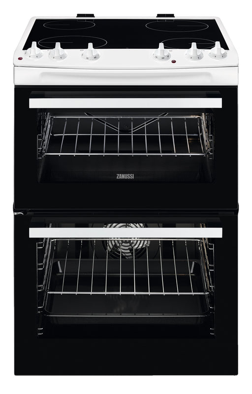 Zanussi ZCV66050WA 60cm  Electric Cooker with Ceramic Hob