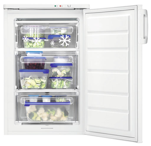 ZANUSSI ZFT11105WV- 55cm Under Counter Freezer