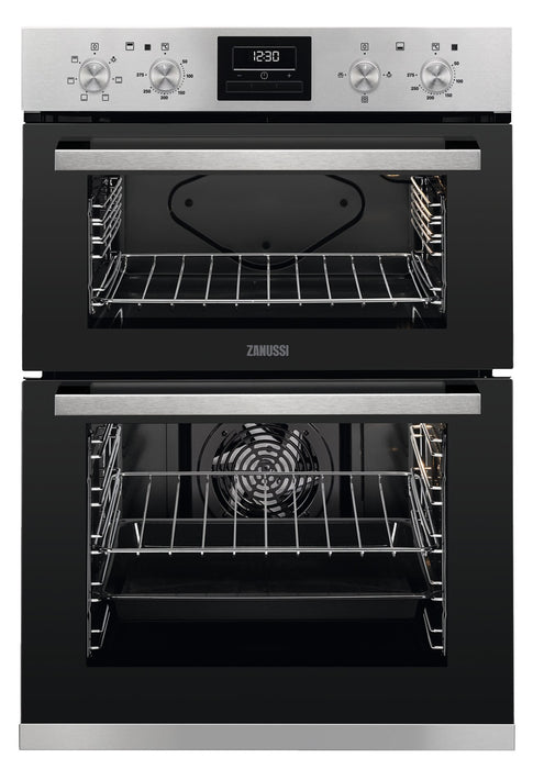 ZANUSSI Electric Double Oven | ZOD35661XK