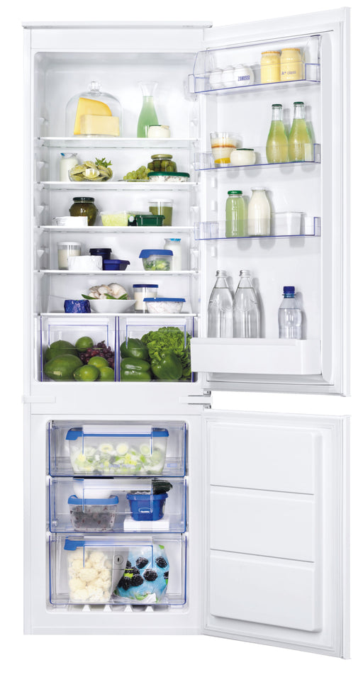 ZANUSSI ZBB28651SV Integrated 70/30 Fridge Freezer