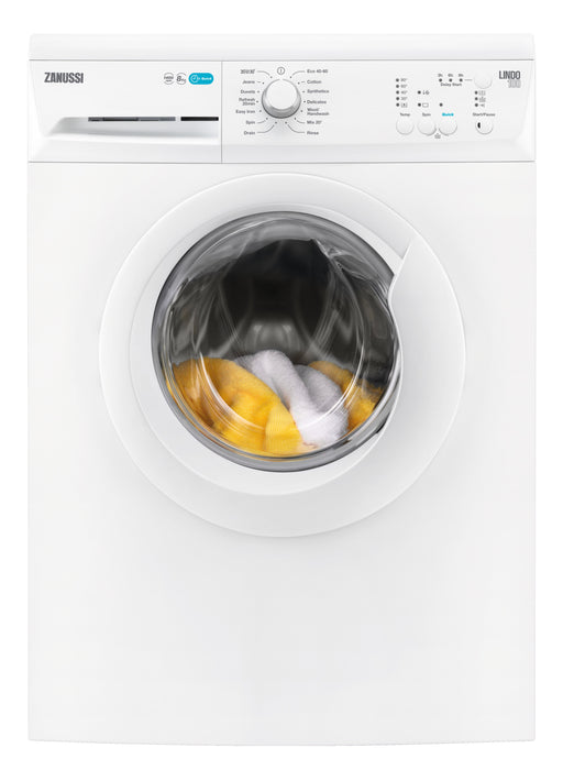 Zanussi ZWF81440W Washing Machine Eco flap 8 kg 1400 rpm A+++