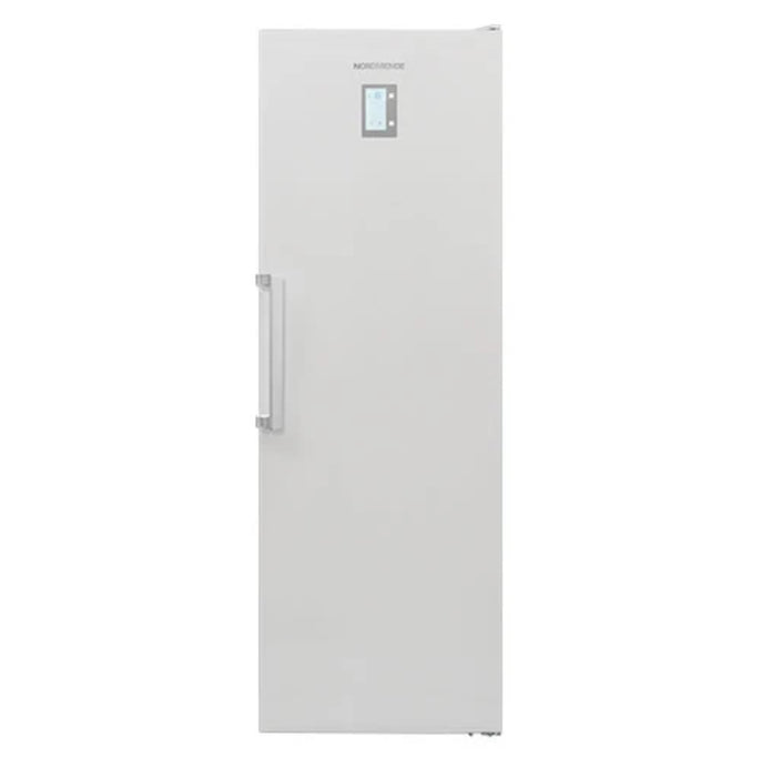 Nordmende 60cm Freestanding Tall Freezer, Frost free, White| RTF393NFWHA+