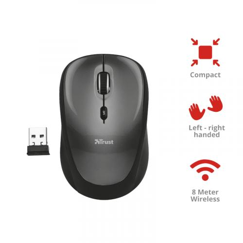 TRUST COMPACT WIRELESS MOUSE T18519