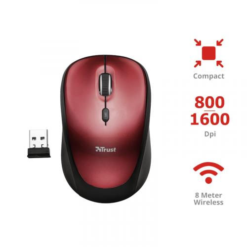 TRUST COMPACT WIRELESS MOUSE T19522