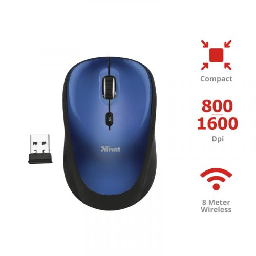 TRUST COMPACT WIRELESS MOUSE T19663