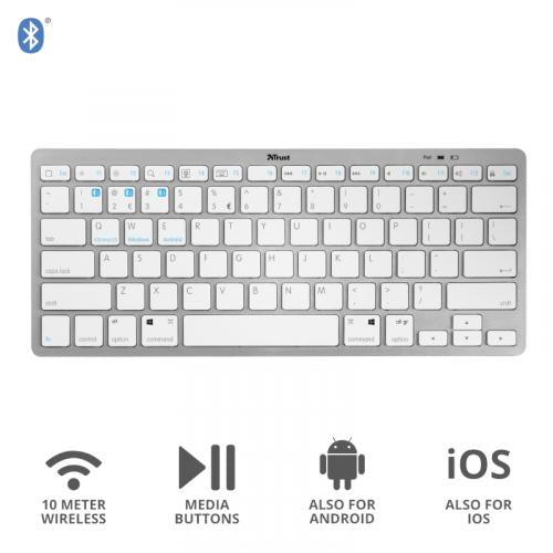 TRUST T23752 WIRELESS BLUETOOTH KEYBOARD