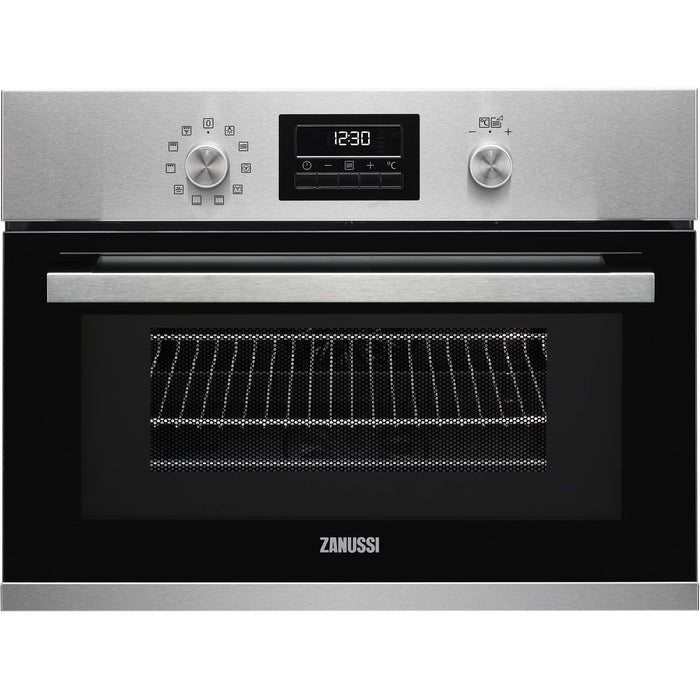 Zanussi ZKK47901XK Compact Multifunction Oven With Microwave Black
