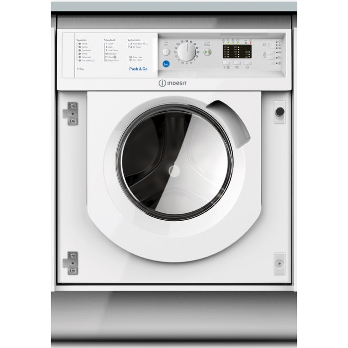 Indesit BIWMIL71452 7kg 1200rpm Integrated Washing Machine - White