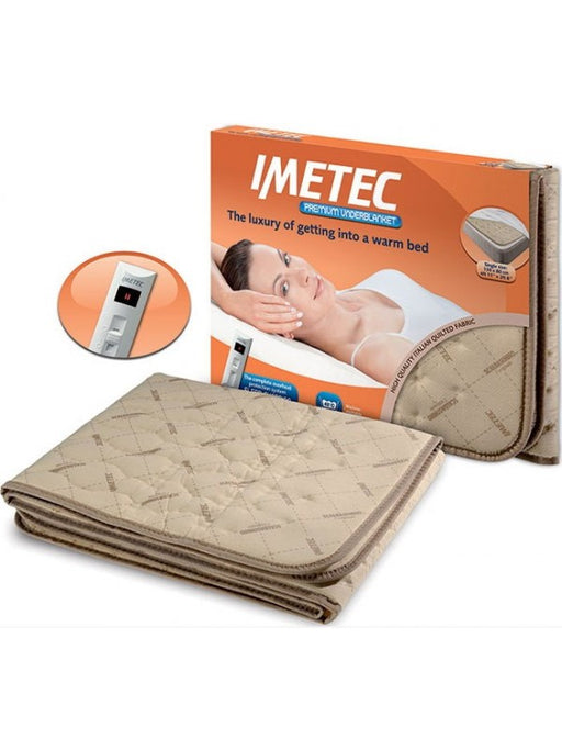 Imetec 16027 Double Premium Quilted Electric Underblanket