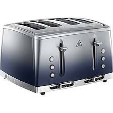 Russell Hobbs Eclipse 4 Slice Toaster - Midnight Blue  25141