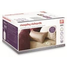 MORPHY RICHARDS -620001-SINGLE ELECTRIC BLANKET