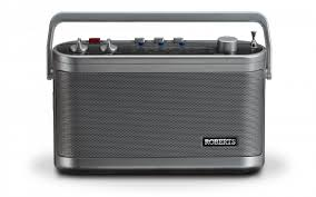 Roberts Classic 3 Band Portable Radio - Silver  R9954