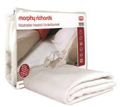 Single Washable Heated Underblanket 600111